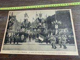 ANNEES 20/30 FETE DE HOCHE A VERSAILLES - Vieux Papiers