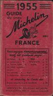 -GUIDE MICHELIN- 1955-Complet- état Correct Usagé-885 Pages- - Michelin (guias)