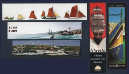 -241-  THEME : BATEAU  - LOT 5 MARQUE PAGE - Bookmarks