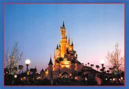 WALT DISNEY  DISNEYLAND Paris Le Chateau De La Belle Au Bois Dormant  MICKEY  37 (scan Recto Verso)MA212BIS - Disney