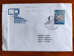 BUSTA FAIP - GIOCHI DEL MEDITERRANEO 1987 - Lettres & Documents
