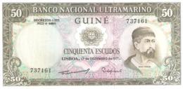 Guiné 50 Escudos 1971 - Guinea