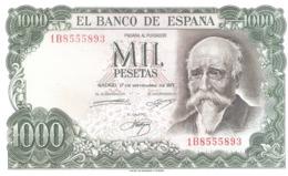 Spain 1000 Pesetas 1971 UNC - [ 3] 1936-1975: Regime Van Franco
