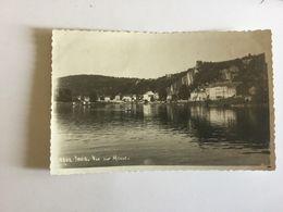 YVOIR VUE SUR MEUSE 1948  CARTE-PHOTO - Yvoir