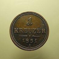 Austria 1 Kreuzer 1851 A - Oostenrijk