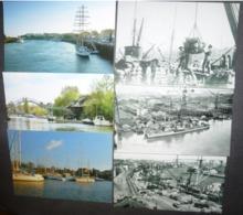 Série De 6 Cartes Postales Numérotées - Journées Nantaises De La Carte Postale (Port De Nantes) - Publicidad