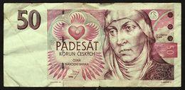 Banknote Czech / Tschechei  -  50 Korun 1994 - República Checa