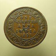 British India 1/4 Anna 1891 - Kolonies