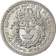 Monnaie, Cambodge, 50 Sen, 1959, SPL+, Aluminium, KM:56 - Cambodge