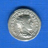 Gordianus Lll  238 /244  Denier   Virtuti  Avg Vsti - 5. The Military Crisis (235 AD Tot 284 AD)