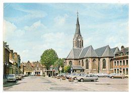 BOUSBECQUES --1981-- Place Du Gal De Gaulle ( Belles Voitures Dont Citroen GS, Et Renault 4 .... ) - Francia