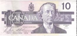 Canada 10 Dollars 1989 - Suiza
