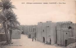 SOUDAN FRANCAIS MALI DJENNE Une Rue 15(scan Recto-verso) MA221 - Mali
