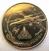 Monnaie De Paris 77.Disneyland 34 Star Tours X-Wing 2014 Maigre - Monnaie De Paris