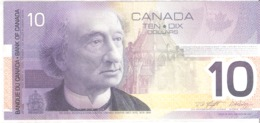 Canada 10 Dollars 2001 - Suiza