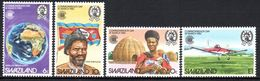 Swaziland - 1983 Commonwealth Day Set (**) # SG 421-424 - Swaziland (1968-...)