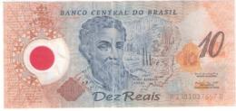 BRASIL 10 REAIS // POLYMER 2000 - Brazil