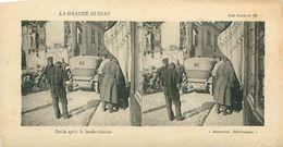 LA GRANDE GUERRE - SENLIS APRES LE BOMBARDEMENT - Stereoscope Cards