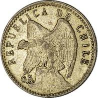 Monnaie, Chile, 5 Centavos, 1906, TTB, Argent, KM:155.2 - Chile