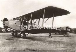 PHOTO AVION   BIPLAN CAUDRON C61 1921      RETIRAGE REPRINT - Aviation