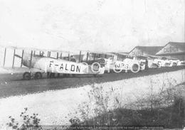 PHOTO AVION      CAUDRON C60 F-ALDN F-AJPS .. Aéroport D'Ambérieu En Bugey (Ain)     RETIRAGE REPRINT - Aviation
