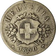 Monnaie, Suisse, 20 Rappen, 1850, Bern, TB+, Billon, KM:7 - Zwitserland