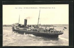 Pc Jersey, Le Bateau De Southampton - Jersey