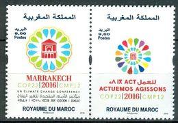 MOROCCO MAROC MAROKKO COP 22 MARRAKECH 2016 - Morocco (1956-...)