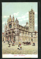 Cartolina Siena, La Cattedrale - Siena