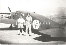PHOTO AVION      CAUDRON SIMOUN N°257 PILOTE M. CHERRIER ECOLE RAYAK 1942 / 43     RETIRAGE REPRINT - Aviation