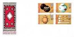 Swaziland - 1978 Handicrafts FDC # SG 296-299 - Swaziland (1968-...)