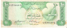 UNITED ARAB EMIRATES 10 DIRHAMS Billet (1982) - United Arab Emirates