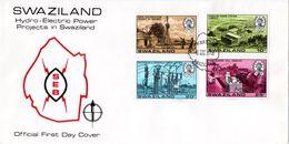 Swaziland - 1978 Hydro-electric Power FDC # SG 289-292 - Swaziland (1968-...)