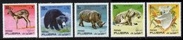 FUJEIRA - 1971 Wild Animals Mi. 792/96 Serie Cpl. 5v. Nuovi** - Fujeira