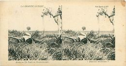 LA GRANDE GUERRE - ARRAS - UN SPAHI EN RECONNAISSANCE - Stereoscope Cards