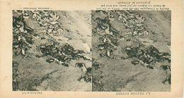 LA GRANDE GUERRE - BATAILLE DE CHAMPAGNE (1915) - NOS SAPEURS ONT FAIT SAUTER UNE MINE QUE PRÉPARAIENT LES ALLEMANDS - Stereoscope Cards