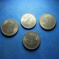 4 Coins Portugal - Monnaies & Billets