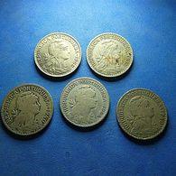 5 Coins Portugal 1 Escudo - Monnaies & Billets