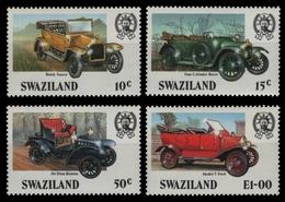 Swaziland 1985 - Mi-Nr. 490-493 ** - MNH - Autos / Cars - Swaziland (1968-...)