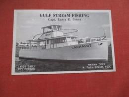 Deep Sea Fishing   Cachalot   West Palm Beach  Florida            Ref 4121 - West Palm Beach