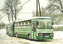 BUS * AUTOBUS * IKARUS 280 * KAPOS VOLAN * WINTER * SNOW * Top Card 0782 * Hungary - Buses & Coaches