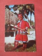 Seminole Indian Medicine Man       Ref 4121 - Native Americans