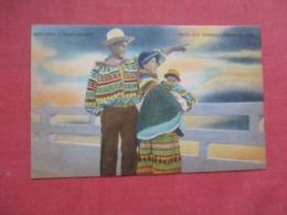 Seminole Indian  Indian Village        Ref 4121 - Native Americans