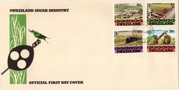 Swaziland - 1982 Sugar Industry FDC # SG 408-411 - Swaziland (1968-...)