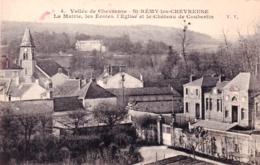 78 - Yvelines - SAINT REMY Les CHEVREUSE - La Mairie - Les Ecoles- L Eglise Et Le Chateau De Coubertin - St.-Rémy-lès-Chevreuse