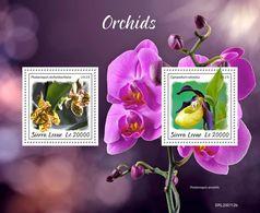 Sierra Leone 2020   Orchids S202003 - Sierra Leone (1961-...)