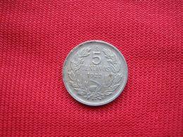 Chile 5 Centavos 1922 - Chile