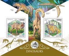 Sierra Leone 2020   Dinosaurs S202003 - Sierra Leone (1961-...)