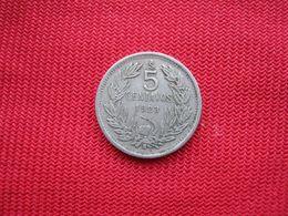 Chile 5 Centavos 1923 - Chile