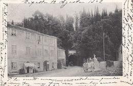 CAMOGLI-GENOVA-TUNNEL DI RUTA-CARTOLINA  VIAGGIATA  IL 12-8-1902 - Genova (Genoa)